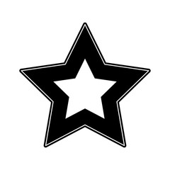 Videogame star symbol icon vector illustration graphic design