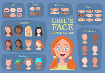 Girl's Character Constructor