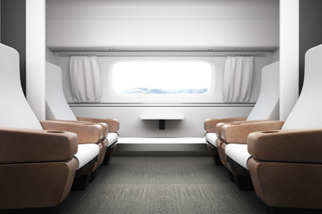 New luxury train interior