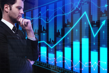 Analysis and statistics concept