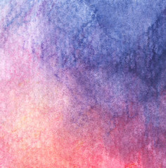 Abstract hand drawn watercolor background. Grunge texture for cards and flyers design.