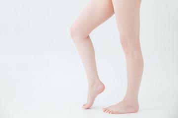 【切抜パス付き】女性の美脚