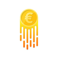 The growing euro symbol