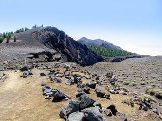 volcanic craters La Palma