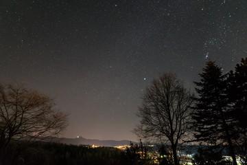 Sternenhimmel im Sommer, Baden-Württemberg, Deutschland