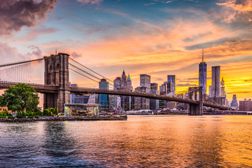 Canvas Prints New York City New York City Skyline