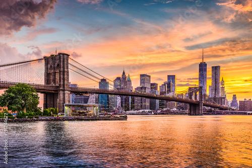 Fototapete New York City Skyline