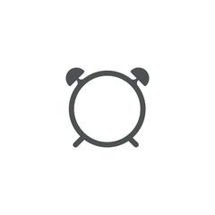 alarm clock icon. sign design