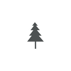 pine tree icon. sign design