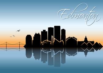 Edmonton skyline - Canada