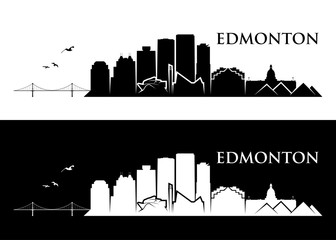 Wall Mural - Edmonton skyline - Canada
