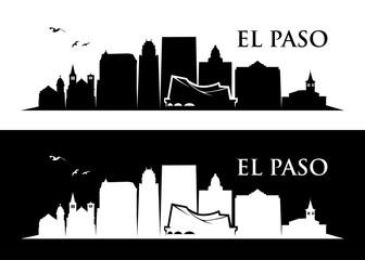 Wall Mural - El Paso skyline - Texas
