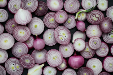 Tiny Red Onions