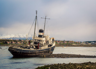 shipwreck in Ushuaia argentina