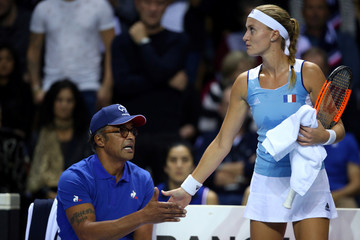 Fed Cup World Group First Round - France vs Belgium