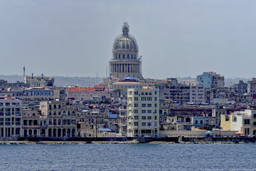 Capital building in Havana, Cuba