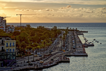 Malecon at sunset