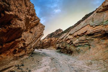 canyon au coucher du soleil