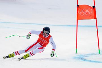 Olympics: Alpine Skiing-Men's Downhill Training