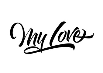 My Love Hand Lettering
