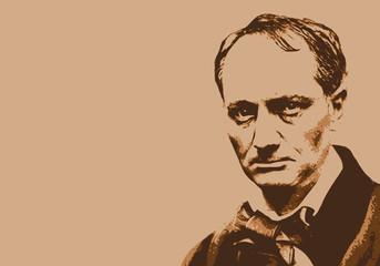 Baudelaire - écrivain - portrait - poète - personnage célèbre - littérature - personnage - livre - poésie