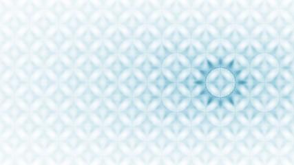 Gemusterter Hintergund - graublau auf weiß