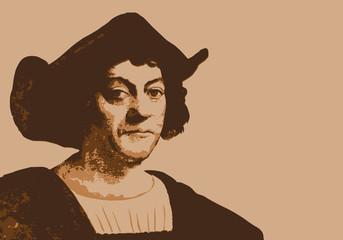 Christophe Colomb - navigateur - explorateur - portrait - personnage historique - découverte - Amérique