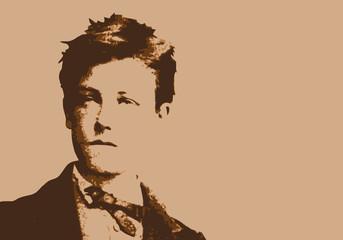 Rimbaud - écrivain - portrait - poète - personnage célèbre - littérature - livre - poésie