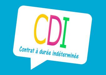 CDI contrat à durée indéterminée