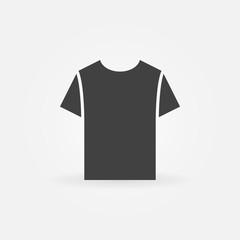 Tshirt icon. Vector t-shirt symbol