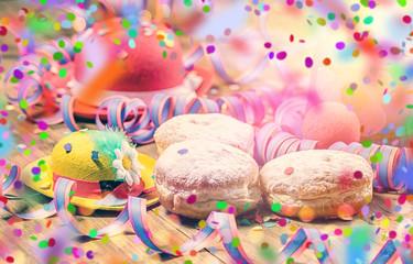 Fasching Party Pfannkuchen