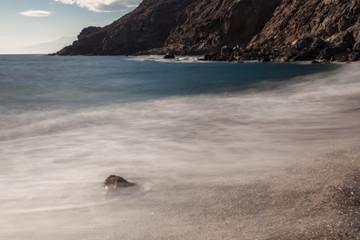 Corralete beach. Natural Park of Cabo de Gata. Andalucia. Spain.