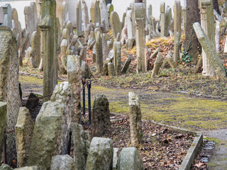 Old Jewish Cemetery from 1787, Prague