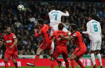 La Liga Santander - Real Madrid vs Real Sociedad
