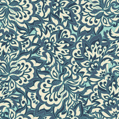 Vector floral wallpaper. floral ornament seamless  pattern