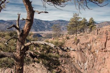 Desert Canyon mountains