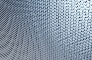 Technological macro background of honeycombs of hexagons. Abstract background