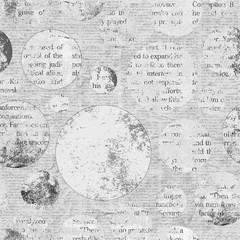 Vintage newspaper texture background