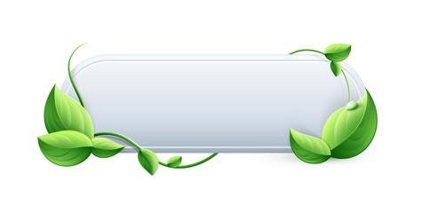 écologie bouton