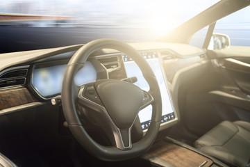 Car seat interior decoration