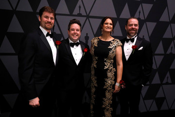 White, Jutan, Rose and Smith, recipients of Technical Achievement Award for the BlockParty procedural rigging system, pose at the Scientific and Technical Awards presented by the Academy of Motion Picture Arts and Sciences in Beverly Hills
