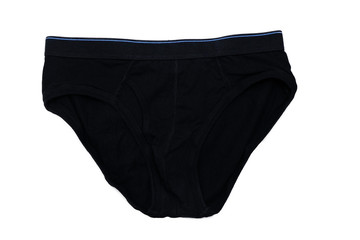 isolated top view men underwear