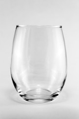 Aluminium Prints Alcohol stemless wine glass