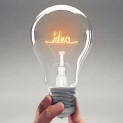 Fototapete - Have an idea. 3D Rendering