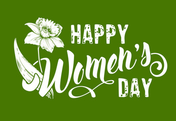 Womens Day greeting design