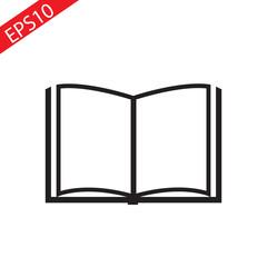 book icon. sign design.flat.