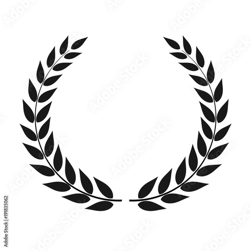 quotlaurel wreath vector isolatedquot stock image and royalty