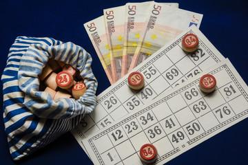 board bingo game lotto