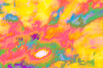 Abstract psychedelic picture part of photo series that can be used as a background separately or as a part of the group of photos to create gif animations or short videos