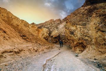 canyon à Death Valley